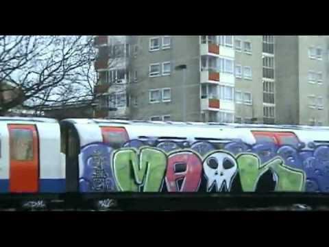 Criminal Damage Video Graffiti Movie Part 8 Of 9 London Subway Youtube