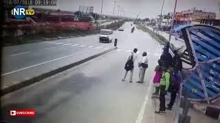 Just Missed In Big Accident of Bus  - NRTV