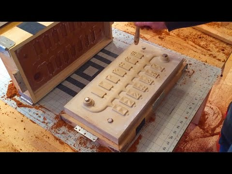 Cast Aluminum Dominoes | Sand Molding And Shake Out (part 2)