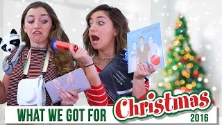WHAT I GOT FOR CHRISTMAS 2016  | Brooklyn and Bailey thumbnail