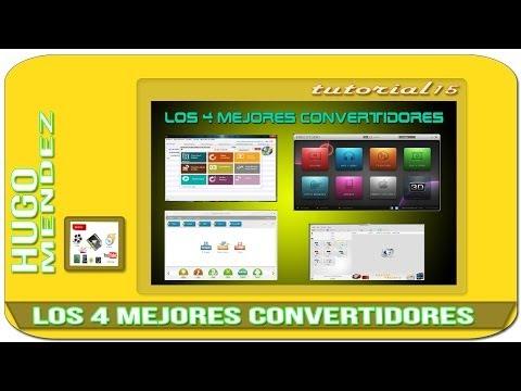 LOS 4 MEJORES CONVERTIDORES AUDIO Y VIDEO