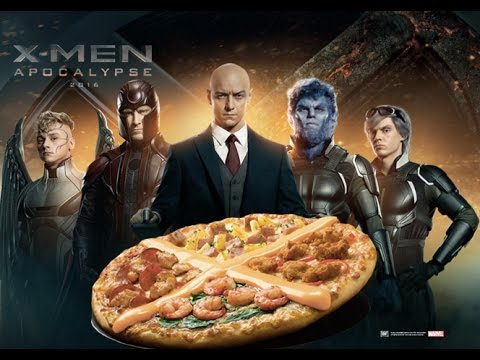 unboxing x men apocalypse xtreme pizza at pizza hut youtube. Black Bedroom Furniture Sets. Home Design Ideas