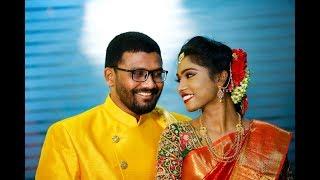 Maanvi with Rajashekar      Engagement Highlights HD   Best Engagement Video