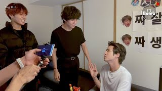 [BANGTAN BOMB] Jin's birthday party behind the scenes - BTS (방탄소년단)