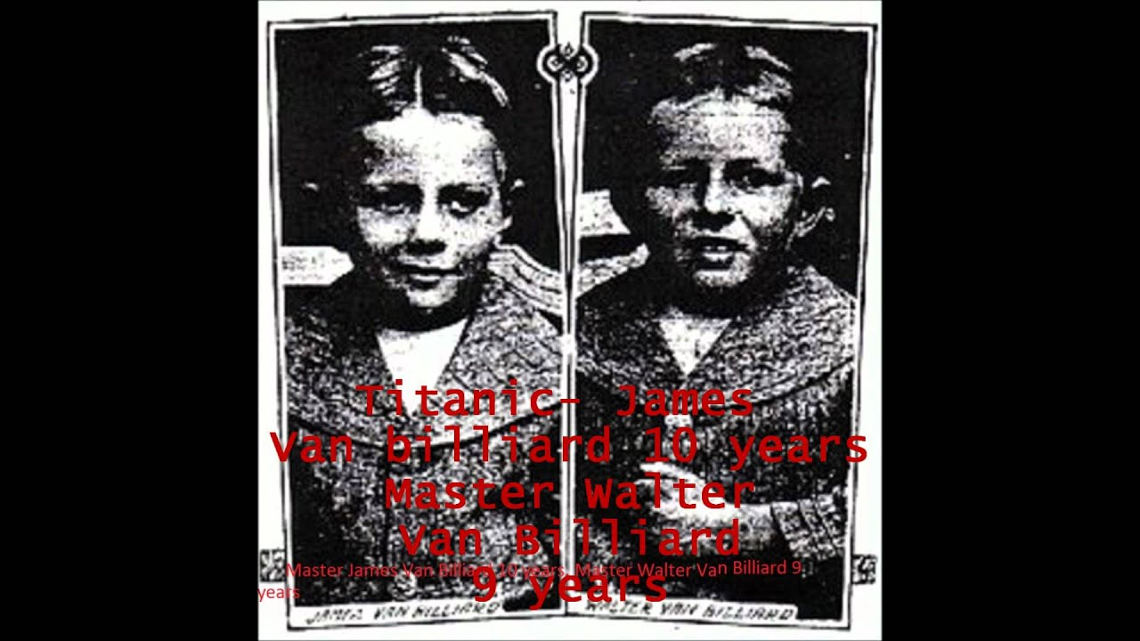 Titanic And Lusitania Children Youtube