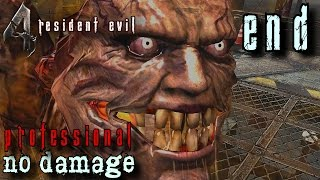 Resident Evil 4 HD Professional Walkthrough END - Saddler Boss Battle - No Damage