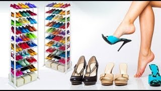 moredeal my stack em up 10 tier shoe rack