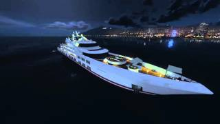 GTA 5 Galaxy super Yacht tour Executives and other Criminals DLC