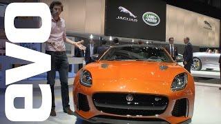 jaguar f type svr preview   evo motor shows