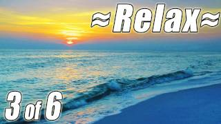 RELAXING NATURE SCENES #3 FULL HD 1080p Videos Soothing Ocean Waves Beach Sounds of Nature