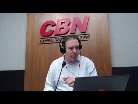CBN Campo Grande (06/08/2020) - com Ginez Cesar