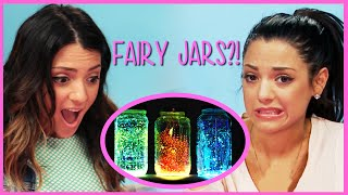 NikiAndGabiBeauty Fairy Jar DIY! | Niki and Gabi DIY or Di-Don