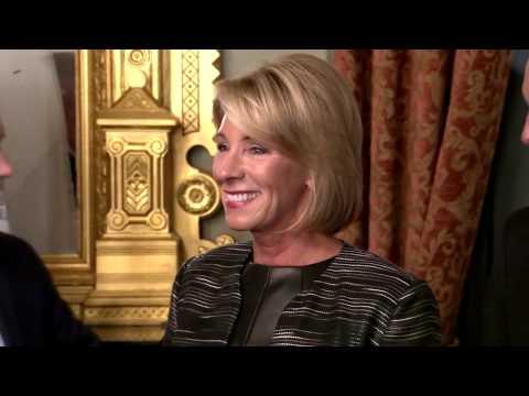 HISTORY: Betsy DeVos Secretary Of Education Swearing In