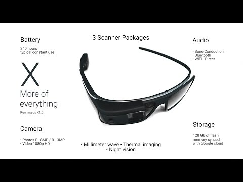 Google Glass X - New Google Glass X 2016