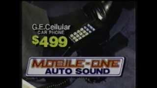Mobile-One Auto Sound commercial - 1987