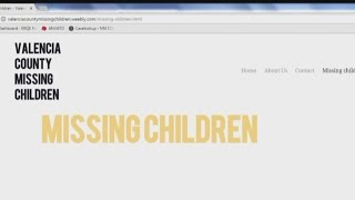 Missing children advocacy group hits the streets