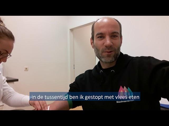Bloedwaardentest Vlog 6