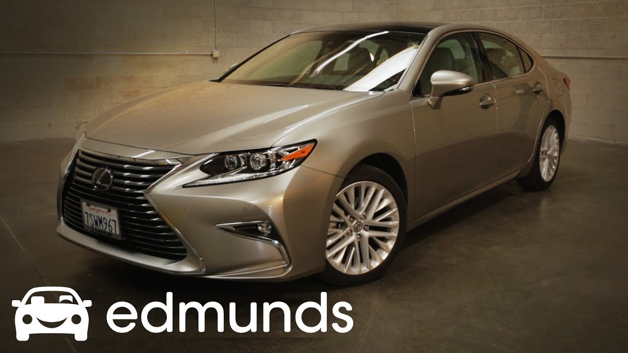 Lexus Is 350 >> 2018 Lexus ES 350 Review | Edmunds - YouTube