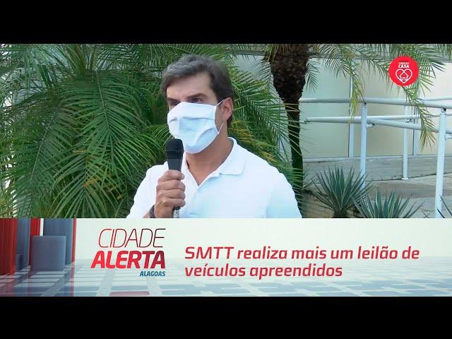 SMTT realiza mais um leilão de veículos apreendidos