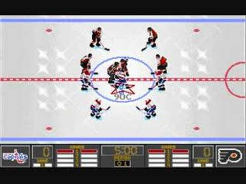 Nhl 95 Pc Gameplay Part 1 Of 3 Youtube