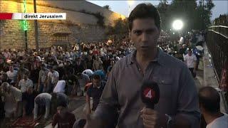 Flera dagar av våldsamheter - Nyheterna (TV4)