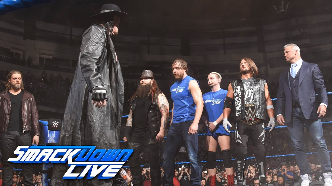 The Undertaker returns with a haunting Survivor Series warning: SmackDown LIVE, Nov. 15, 2016