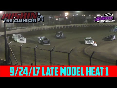 LaSalle Speedway - 9/24/17 - Late Model - Heat 1
