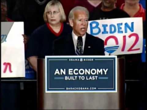 Vice-President Joe Biden in Toledo