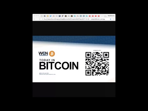 Today in Bitcoin (2018-04-23) - MadBitcoins 5 Year Anniversary - Bitcoin $9000 - Goldman Sachs
