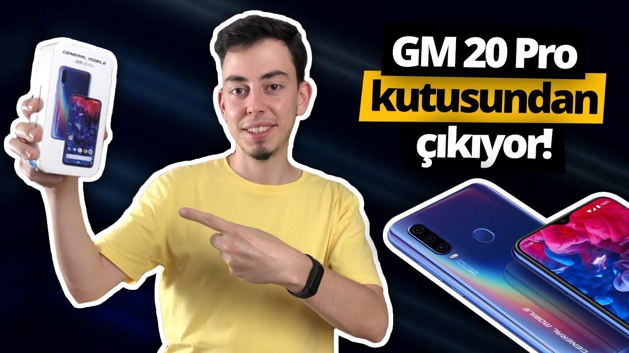 General Mobile GM 20 Pro kutusundan çıkıyor - TÜRKİYE'DE İLK!