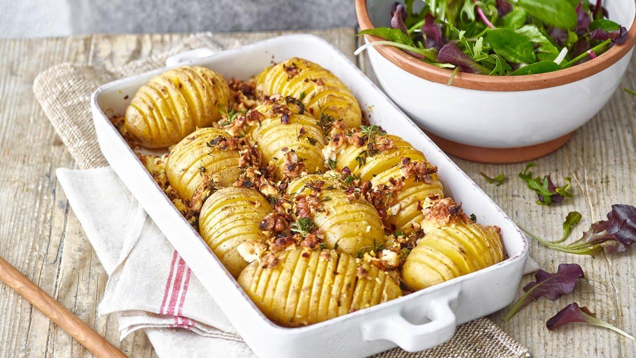 Pommes de terre au four - Recette végétarienne de Betty ...