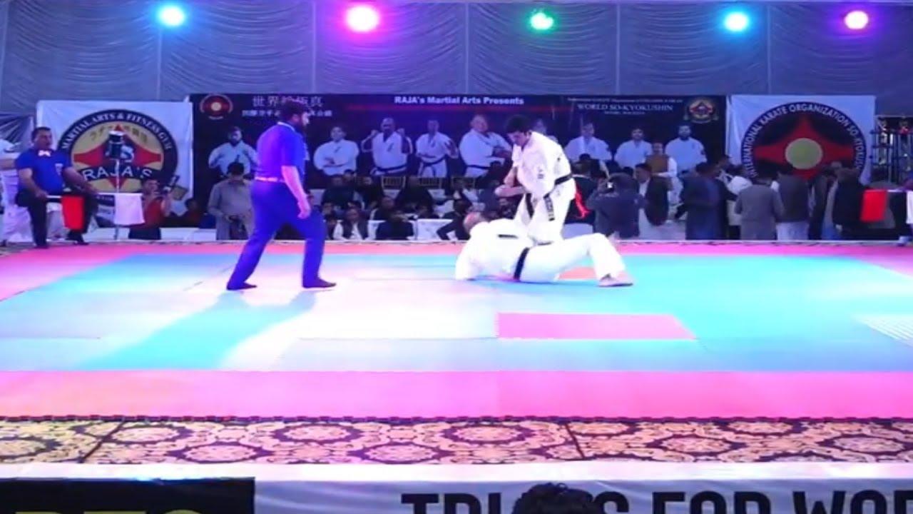 Kyokushin Karate KO Morocco - YouTube