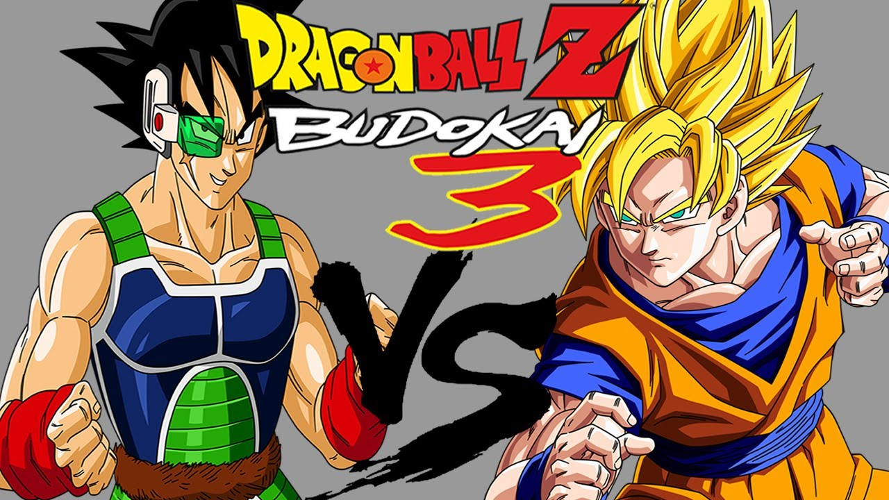 Dragon Ball Z Budokai 3 Bardock (w/Spirit of Saiyans) VS ...