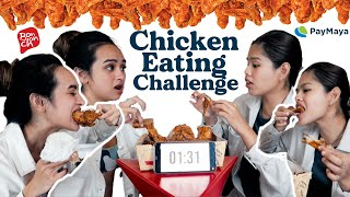 BONCHON CHICKEN EATING CHALLENGE!! PARTNER QUESTIONED THE RESULTS!   Pilot Chezka & Clare Inso