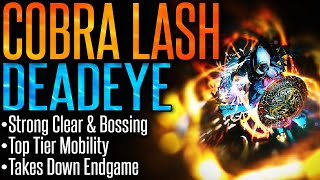 path of Exile 3.9Cobra Lash Deadeye Build Guide Devastating Clear Speed  Strong Single Target!