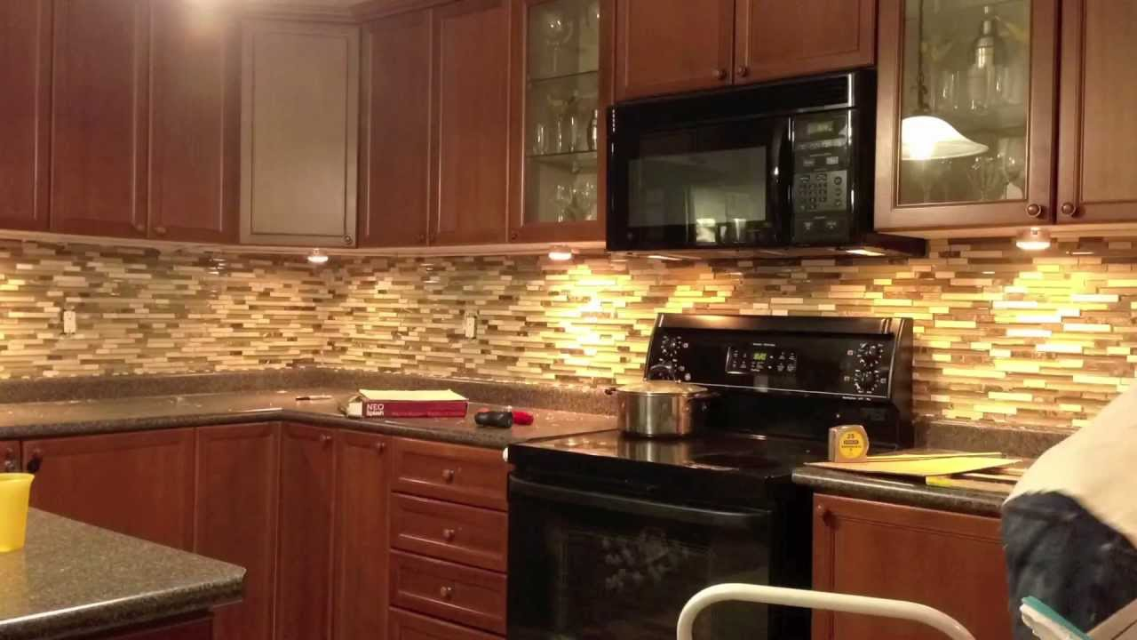 Backsplash in a Flash - YouTube