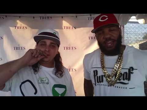 SMOKING WEED WITH THE GAME!!!
