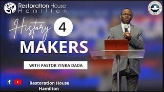 Epaphroditus: Selfless Service - History Makers 4 - Pastor Yinka Dada   May 16 2021