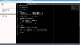 Си++ 01. Пример класса для демонстрации языка.