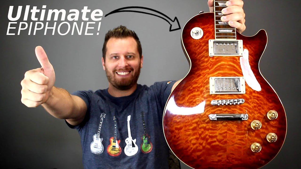 building the ultimate epiphone one les paul to rule them all  [ 1280 x 720 Pixel ]