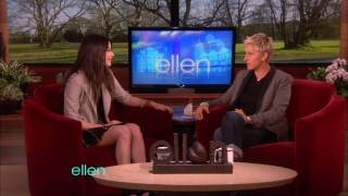 Miranda Cosgrove on Ellen