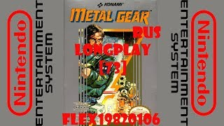 Metal Gear - NES: Metal Gear (rus) longplay [73] - User video