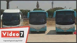 بالفيديو..شاهد الأسطول الجديد للشركة القابضة للنقل البحرى والبرى