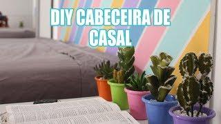 DIY Cabeceira da Cama