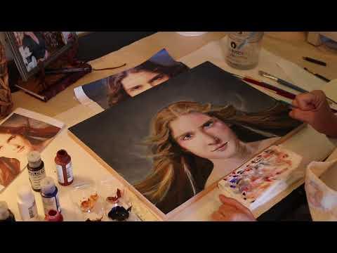 Artist Studio Tour - Artwork in Progress