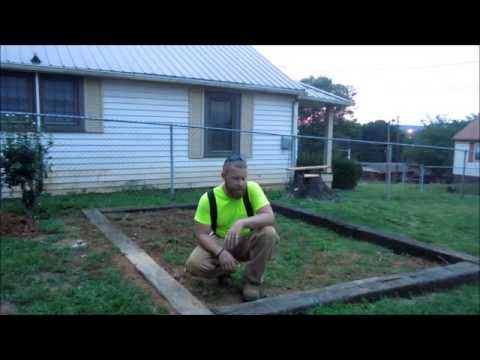"How to Build a Greenhouse Part1 ""The Foundation"" by HPFirearms"