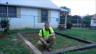 """How To Build A Greenhouse Part1 """"the Foundation"""" By Hpfirearms"""