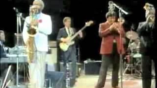 "Abdul Al-Khabyyr, Baritone Sax - ""Night In Tunisia"" (Gillespie/Sandoval, Live in Havana, Cuba 1985)"