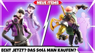 Really? THAT'S WHAT YOU'RE SUPPOSED TO BUY? 🙈 | FREESTYLERIN & RED TARNUNG | Fortnite New Shop Today 24.08