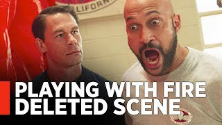 PLAYING WITH FIRE - Deleted Scene with John Cena & Keegan-Michael Key [Exclusive]